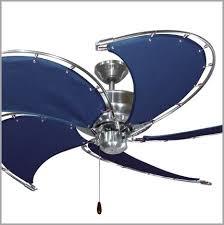 theme ceiling fans unique nautical ceiling fan with canvas blades 52 in dans fan city miami
