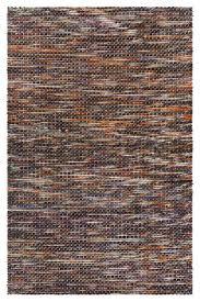 argos contemporary area rug orange