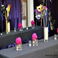 Masquerade Ball Table Decoration Ideas Beauteous Masquerade Ball Decorations Some Inspiringly Stunning And