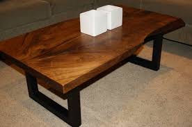Homemade Dining Room Table Impressive Coffee Tables Top 48 Fabulous Live Edge Wood Table Ingenuity Natural
