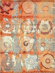 orange outdoor rug amazing world menagerie area reviews