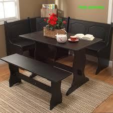 Kitchen Nook Table Black Corner Dining Set Breakfast Nook Bench Table Kitchen Dinette