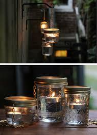 diy garden lighting ideas. DIY Hanging Mason Jar Lights | 20 Garden Lighting Ideas That Will Make Your Outdoor Diy