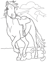 Realistic Horse Coloring Pages - GetColoringPages.com