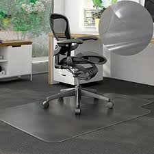 pvc home office chair floor. Pvc Home Office Chair Floor Mat Studded Back With Lip For Standard Pile Carpet Smooth Surface S