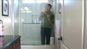 what to clean shower doors with cleaning shower glass how to clean shower glass doors