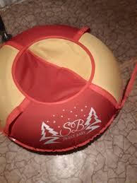 Обзор от покупателя на <b>Тюбинг Sweet Baby</b> Glider 85 Red-Yellow ...