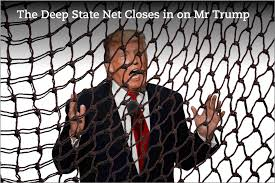 Image result for Is Trump part of the deep state?
