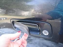 2000 Toyota Camry Exterior Plastic Door Handle Breaks Off: 4 ...
