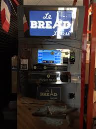 Vending Machines San Francisco Custom A Bread Vending Machine That Delivers Delicious Baguettes On Demand