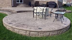 Deck Designs Stamped Concrete Patio Patterns Colors Biondo Cement