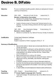 Physical Education Teacher Resume Beautiful Educator Resume Sample