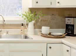 Kitchen Backsplash Diy How To Install A Tin Tile Backsplash How Tos Diy
