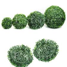 Decorative Boxwood Balls Fashion Artificial Plant Ball Tree Boxwood Wedding Event Home 91