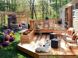 Backyard Deck Design Ideas Fascinating Three Deck Design Ideas To Get Your Yard Ready For Summer Tania Harmon