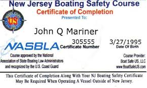 meta Safety New Boat Nj Certificate Jersey meta And Boaters License