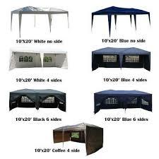 10 x20 ez pop up wedding party tent