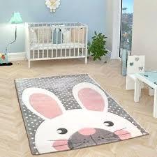 gray rug baby room grey white pink playroom mats small large kids animal marvellous g