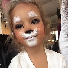 image result for white rabbit face makeup