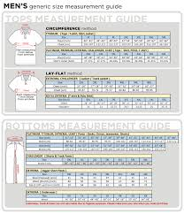 Size Chart For Plus Size Clothes