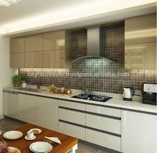 Modular Kitchen Handle Design Italian Design Glossy Kitchen Cabinet With Integrated Door Handle Buy Modern Kitchen Cabinets Kitchen Cabinet With Integrated Door Handle Modular