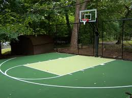 home basketball court design. Image Of: Perfecting Home Basketball Court Design