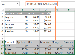 rate comparison format in excel array formulas and functions in excel examples and guidelines