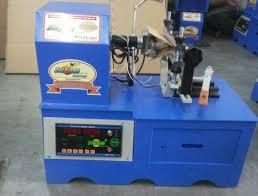 shyam semi automatic ceiling fan stator winding machine