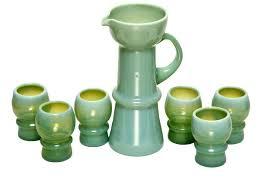 vaseline factory india vase glass pitcher