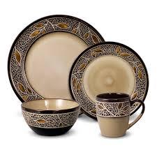 porcelain earthenware  stoneware dinnerware sets for