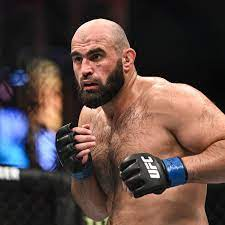 Shamil Abdurakhimov vs. Chris Daukaus scratched from UFC Vegas 33, moved to  UFC 266 instead - MMA Fighting