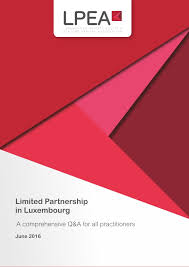 Limited Partnership In Luxembourg V 2016