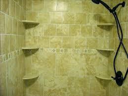 corner shower shelves tile ceramic shelf medium size of for home depot
