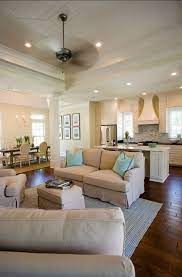 Open Concept With The Kitchen Living Room And Dining Room All Together By Geaux Tigers Home Open Concept Kitchen Living Room Living Room And Kitchen Design