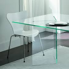 glass dining table tonelli bacco glass dining table klarity glass furniture