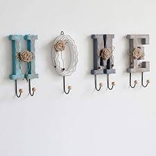 WEBO HOME- <b>American Country Creative</b> Wooden Coat Hooks ...
