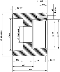 Курсовая работа Технология конструкционных материалов  Деталь втулка Сталь45Х
