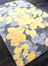 5x8 wool rug blue area rugs hand tufted fl pattern yellow gray wool rug target round