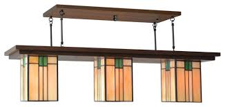 craftsman style lighting. Decoration: Stunning Mission Style Pendant Chandelier Craftsman Hanging Modern Lighting For 14 From E