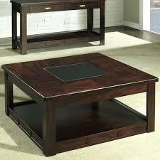 square espresso coffee table