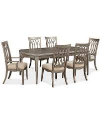 dining room set furniture. kelly ripa home hayley 7-pc. dining set (dining table, 4 side. furniture room