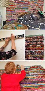 colorful rug headboard via jenniferperkins colorful rug headboard pic for 21 diy bohemian bedroom decor ideas for teen girls