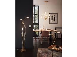 Dimmbare Led Pendelleuchte Goldfarbig Kronleuchter Modern Esstisch Pendel