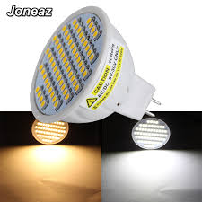 Joneaz <b>10X</b> ampolleta <b>led</b> bulb 12 24 volt MR16 <b>spotlight</b> 12v 24v ...