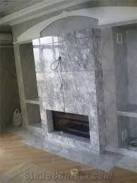 silver marble fireplace surround silver grey marble fireplace surround