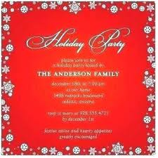 Company Christmas Party Invites Templates Corporate Party Invitation Template