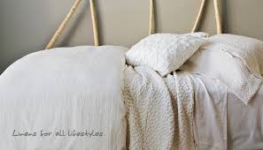 purist organic linens creating a natural mattress