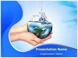Save Water Powerpoint Presentation Template Is One Of The