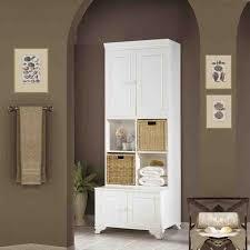 Fine Modern Bathroom Storage Cabinets Image Of Elegant Cabinet Intended Ideas