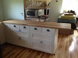 image of ikea kitchen countertop installation